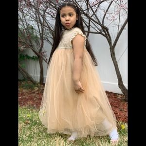 Trish Scully Alessandra Dress Butterscotch